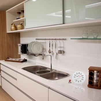 Timer de Cozinha Herweg Branco 3203 021 Contagem Regressiva Alarme 60 Minutos